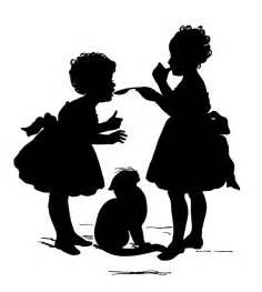 Child Silhouette Clip Art