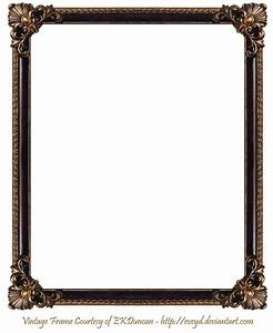 frame png | Elaborate Wood Frame 3 by EKDuncan by EveyD on ...