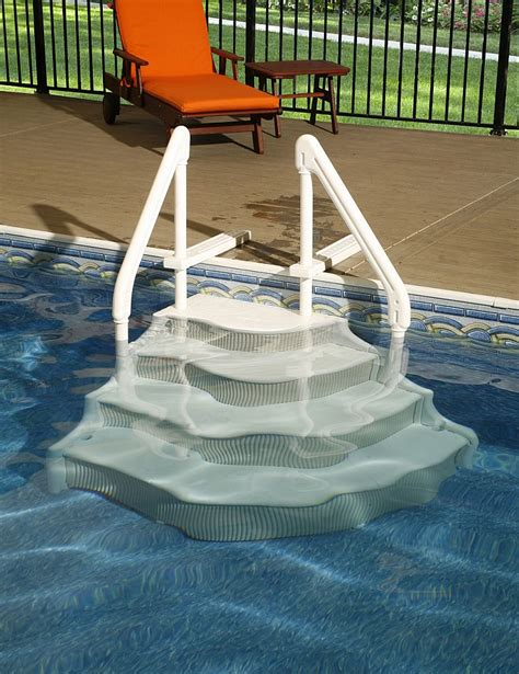 above ground pool steps for decks best 25 pool steps ideas on swimming pool