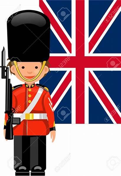 Palace Guard Buckingham Royal Clipart Vector London