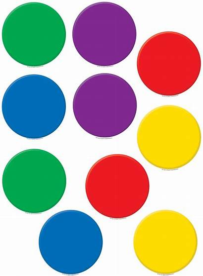 Circles Colorful Accents