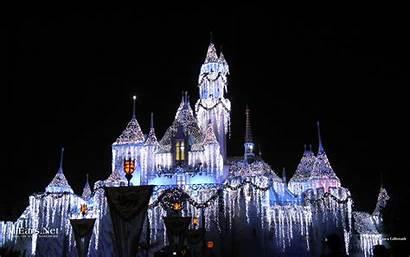 Castle Disney Disneyland Ice Wallpapers Haunted Computer