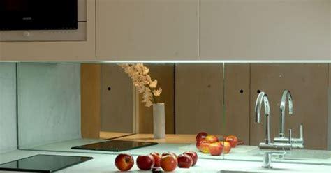 la crédence miroir tendance et design pour ma cuisine