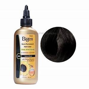 Bigen Natural Black NB2 Semi Permanent Hair Color Beauty