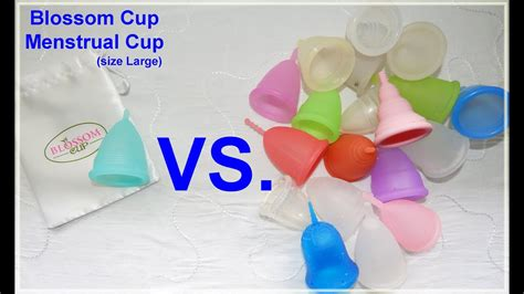 Mooncup Vs Cup - blossom cup vs various menstrual cups comparison