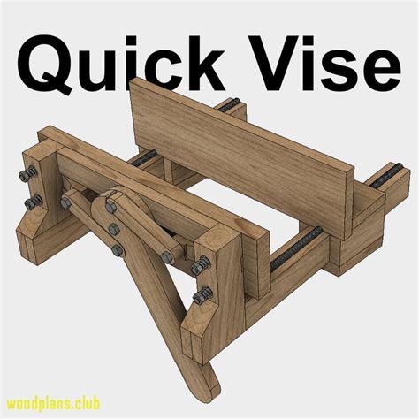 pin  woodshopbitscom  woodworking plans   woodworking bench vise woodworking bench