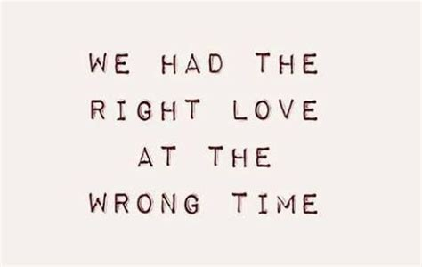 Wrong Timing Relationship Quotes