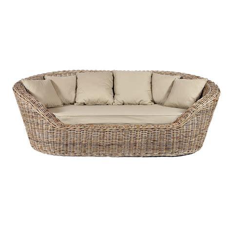 canape en osier kubu rattan sofa buy rotin design sofa
