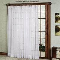 curtains for sliding glass doors Patio Door Curtain Ideas | HomesFeed