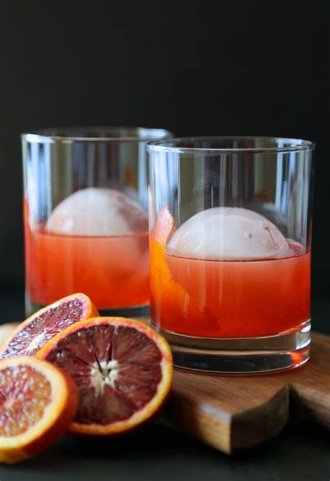 negroni with bourbon blood orange whiskey negroni climbing grier mountain