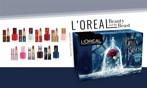 L 39 Oréal 推出 Beauty And The Beast 彩妝盒 多款唇膏色號滿足不同風格的女性 The