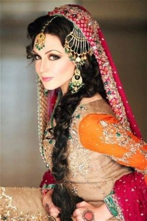 latest pakistani bridal wedding hairstyles trends