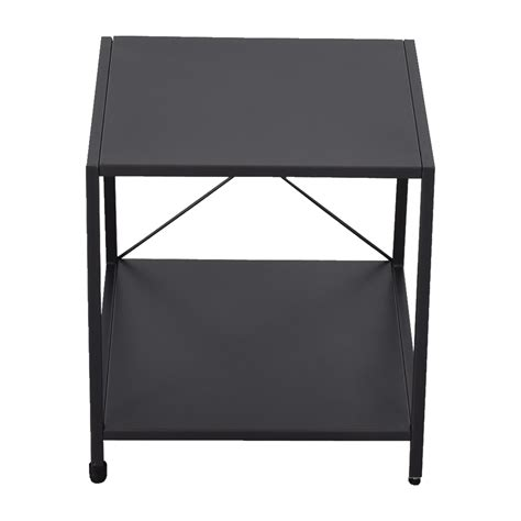 Cb2 Nightstand by 45 Cb2 Cb2 Charcoal Nightstand Tables