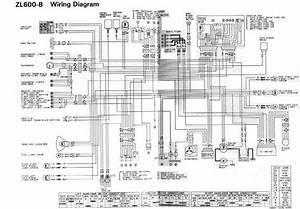Wiring Diagram Of 1996 Kawasaki Zl600  59950