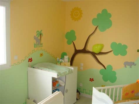 chambre de bébé jungle chambre bébé jungle 8 photos syldo10