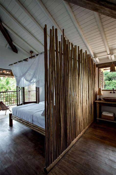 le lit en bambou authenticite  touche zen archzinefr