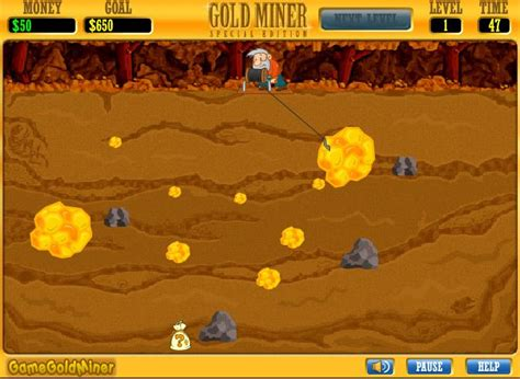 Gamis Gold gold miner 2 special version