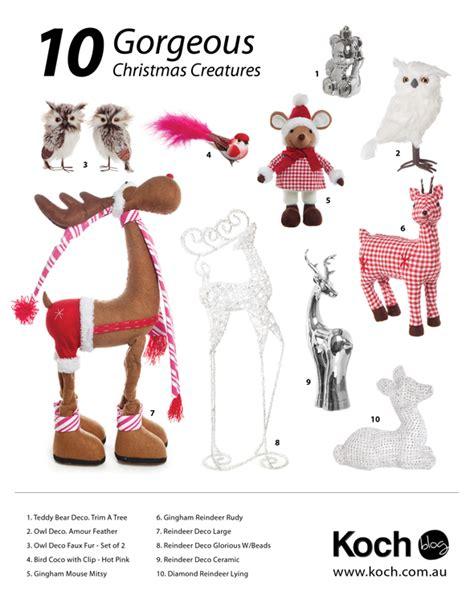 gorgeous xmas decorations  koch blog
