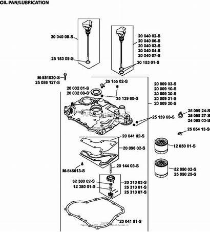 Kohler Oil Hp Parts Sv600 Sv590 Lubrication