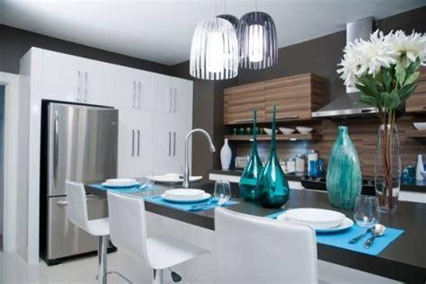 la cuisine de manon un éclairage réussi pour votre îlot