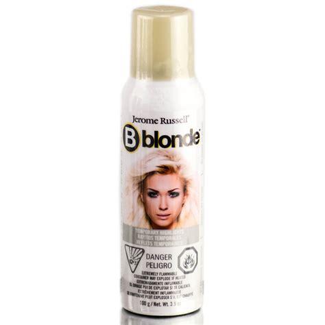 spray in hair color jerome bwild temporary hair color spray