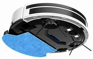 Aspirateur Qui Aspire Et Lave : robot aspirateur et laveur amibot pure h2o bestofrobots ~ Melissatoandfro.com Idées de Décoration