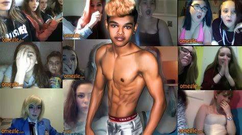 Omegle Teen Reaction Big Dick