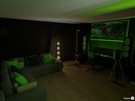 gaming room   design  studio floor plans