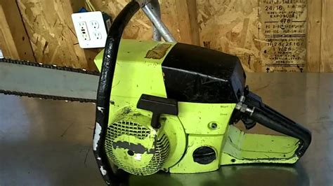 poulan  countervibe dolmar  chainsaw youtube