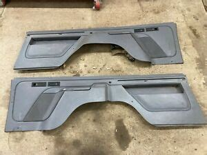 Whether you need to replace a lower quarter panel, a dog leg, a footwell, or door pillar, we have the parts that you're looking for. 1992-1996 92-96 Ford Bronco Rear Interior Cargo Bed Trim ...