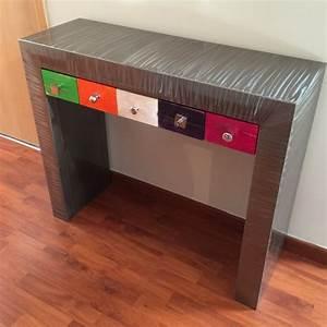 Console Avec Tiroir : console avec tiroirs multico console tiroir console design ~ Teatrodelosmanantiales.com Idées de Décoration