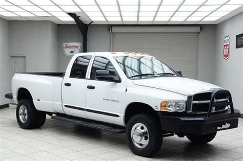 sell used 2005 dodge ram 3500 diesel 4x4 dually slt cab infinity texas truck in