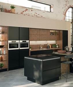 Ilots Central Cuisine : cuisine avec lot central moderne ixina ~ Melissatoandfro.com Idées de Décoration