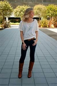 Womens Fashions Outfits With Riding Boots With A Great Outfit