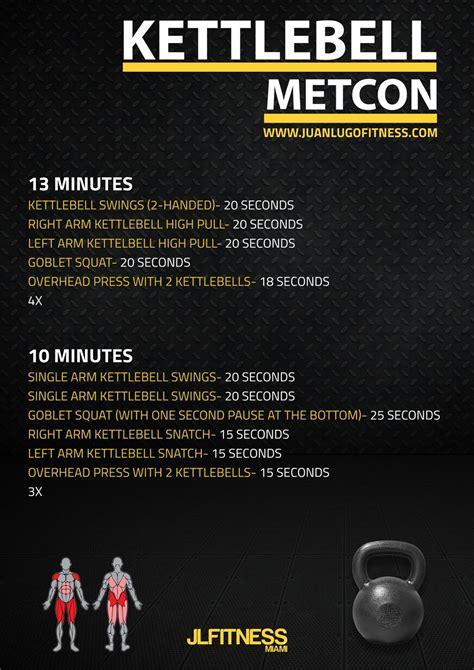 kettlebell metcon workouts workout crossfit wod training emom cardio circuit metcons minute jlfitnessmiami juanlugofitness exercises beginner met challenge con fitness