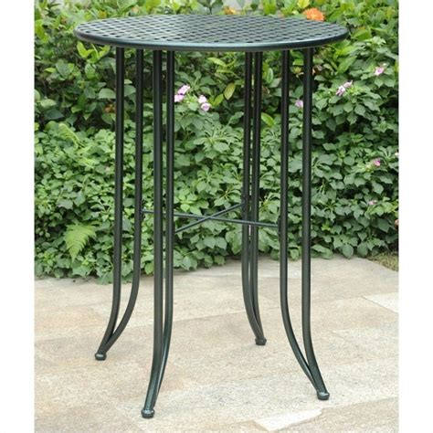 pub height patio table features