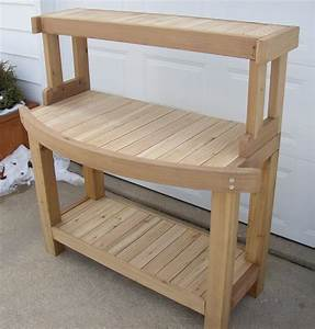 Potting Bench Plans with Sink – Outdoor Decorations