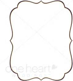Elegant Free Wedding Border Clip Art