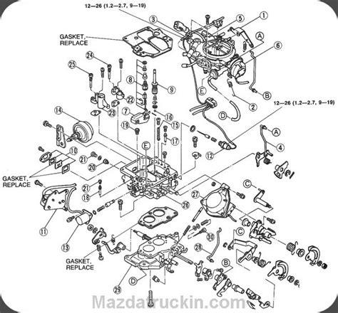 Oem Carb Repair Mazda Truck