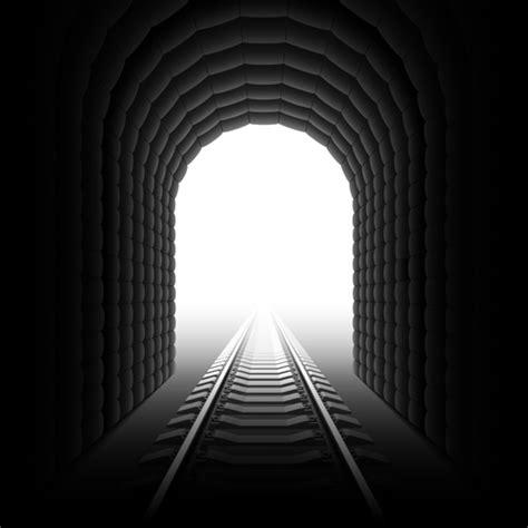 tunnel  light design elements vector  vector