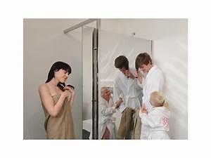 Paroi De Douche Miroir : luxe discret avec flatconcept mirror le paroi de douche ~ Dailycaller-alerts.com Idées de Décoration