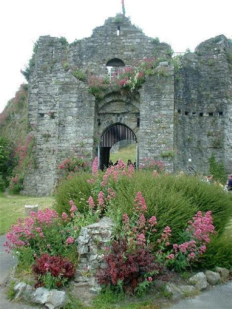 Oystermouth Castle Wales