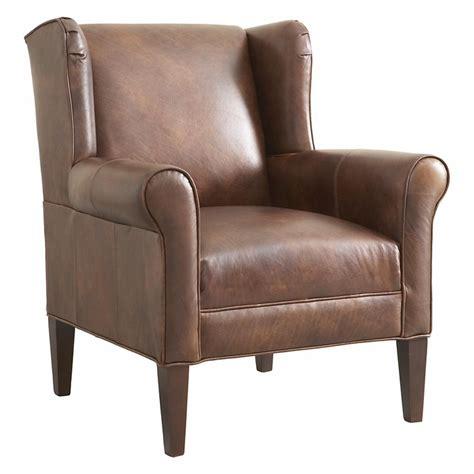 leather chair by bassett furniture bassett