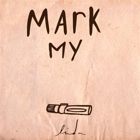mark my words typography gif by linda van bruggen find share on giphy