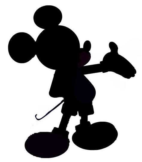 Mickey Mouse Silhouette Template by Mickey Mouse Silhouette Looking For A Silhouette All