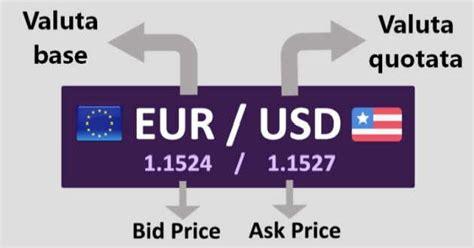Bid Ask Significato Cos 232 La Valuta Base Nel Forex E La Valuta Quotata