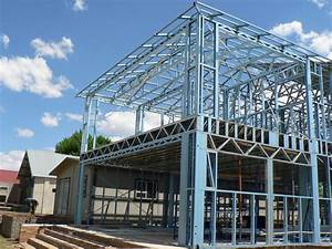 manufacturer of light steel frames for construction With building a steel frame house