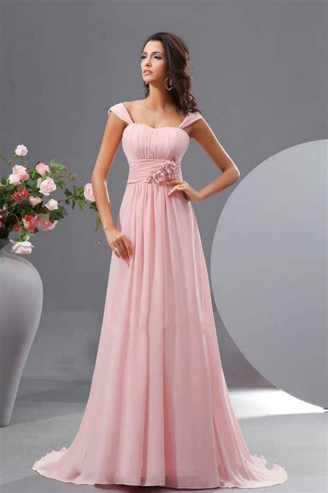 Pink Chiffon Bridesmaid Dresses Pink Bridesmaid Dress