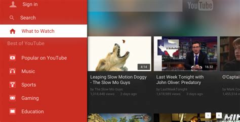 tv one app for android tv app reved ahead of android tv slashgear