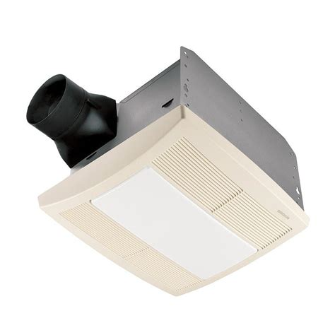nutone light and exhaust fan broan qtr series quiet 110 cfm ceiling exhaust bath fan